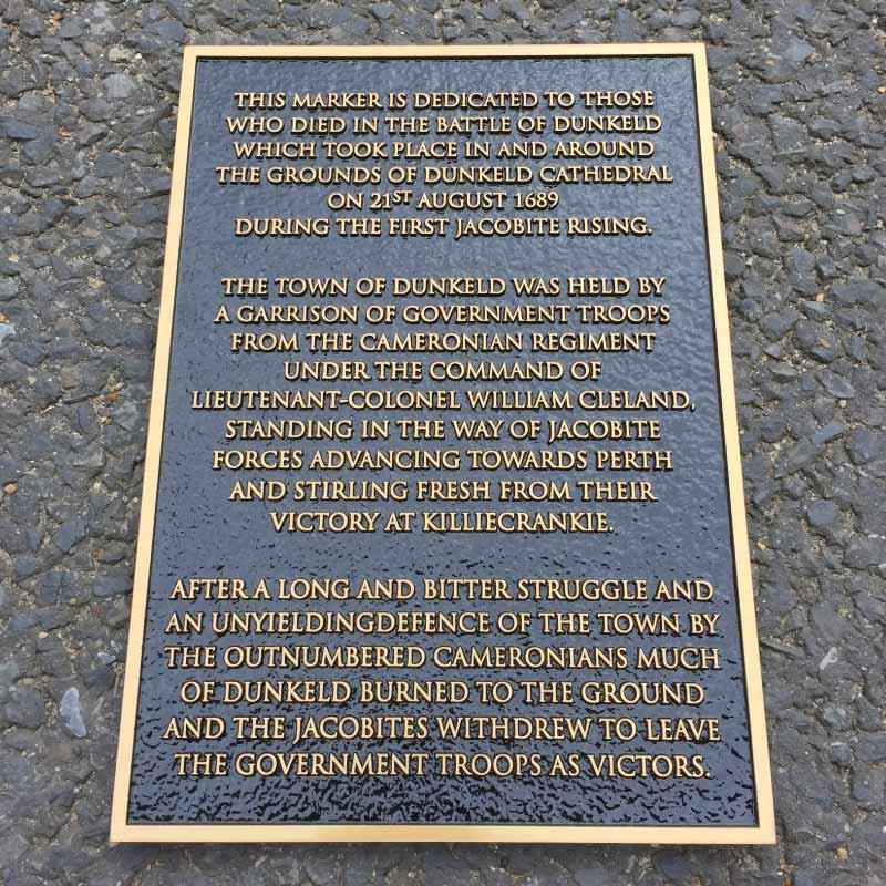 Commemorative PLAQUEA4 bronze black