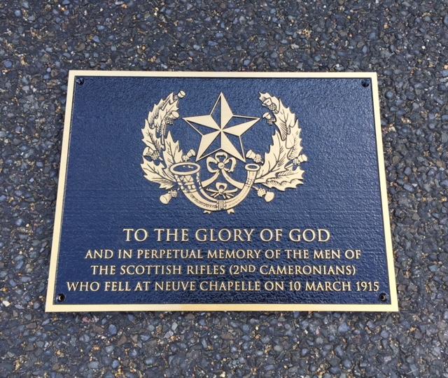 CommemorativePLAQUE 18X12BRONZEBLACKBACKGROUND
