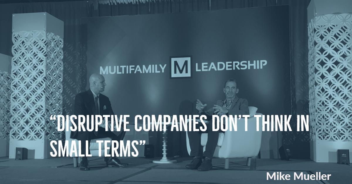 Multifamily Leadership Summit Mike Mueller Quote