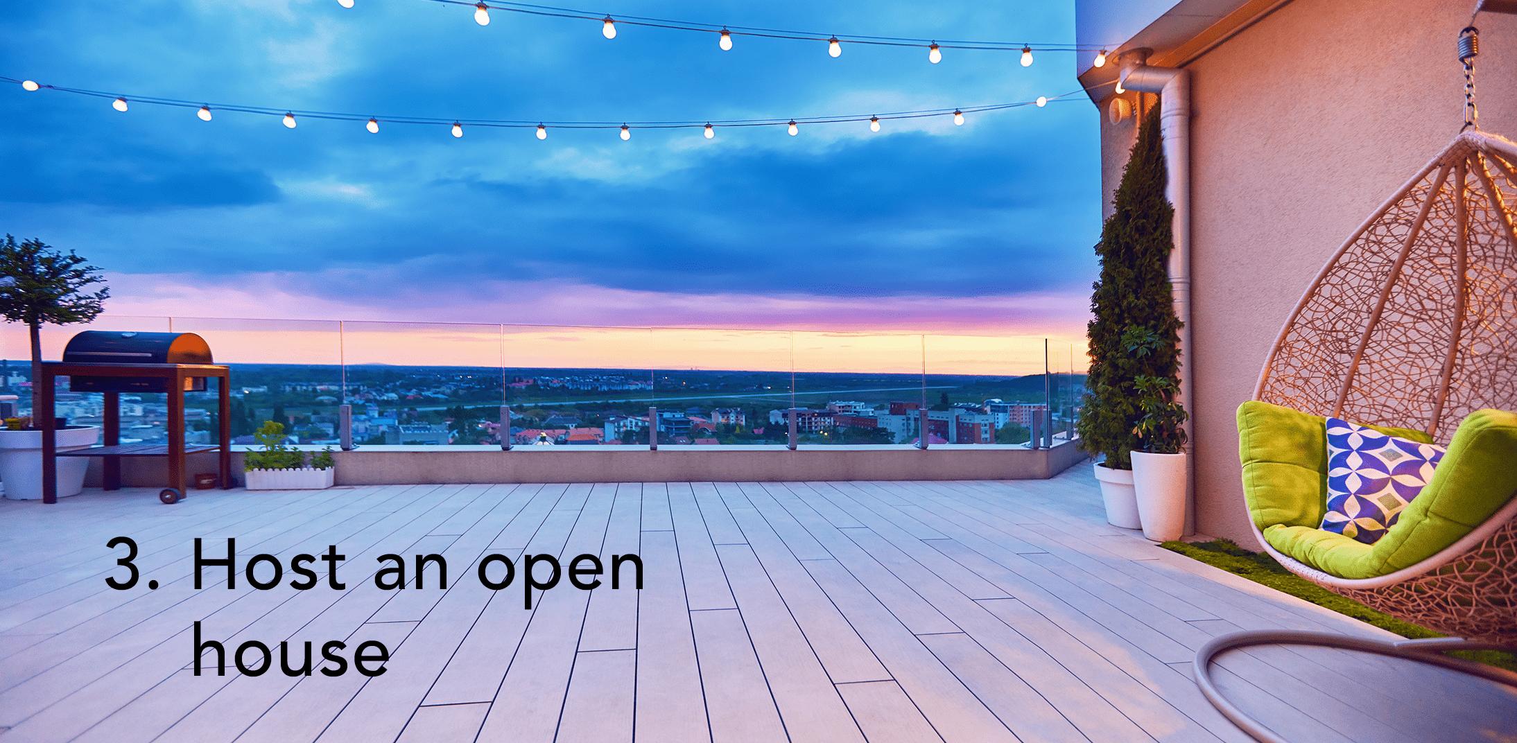 Apartment Marketing Tips - Host an open house