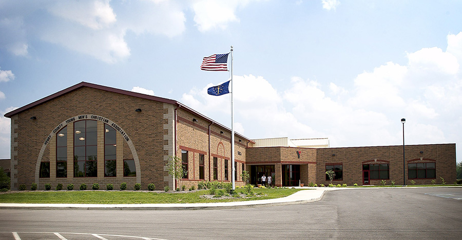Henry County YMCA facility from the outside