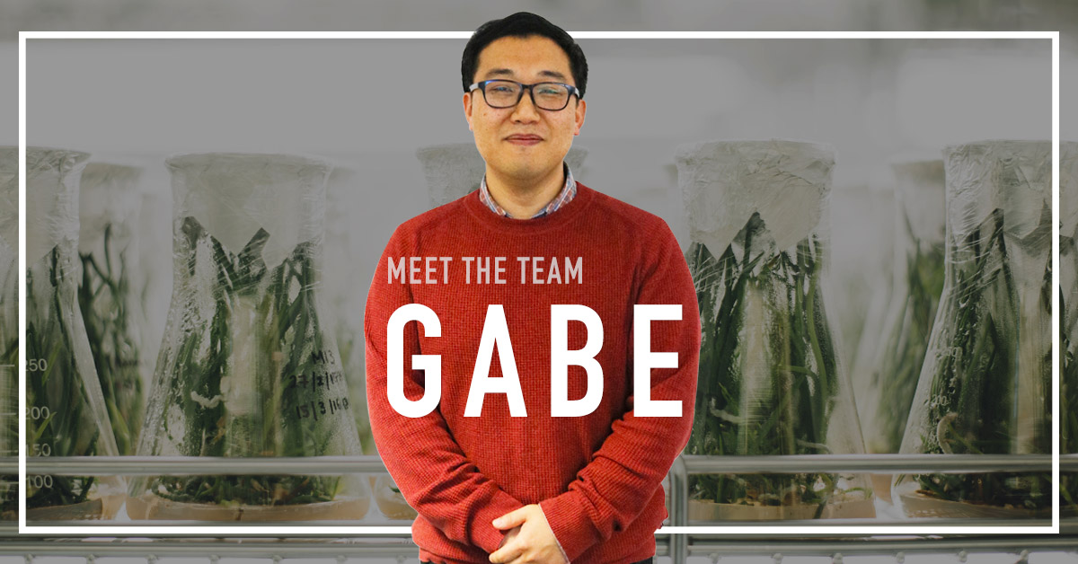 Meet Gabe Lee, father of two, registered lawyer, drummer, and one of Terramera's original employee!