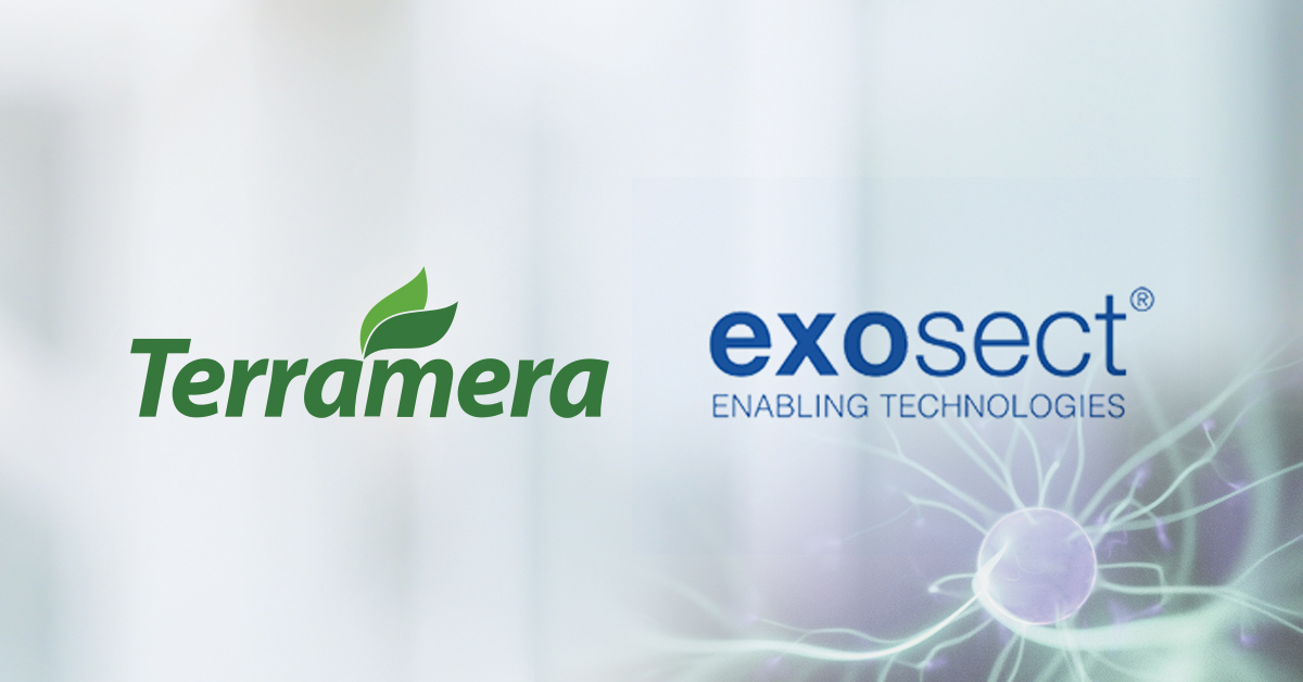 Terramera has acquired a broad technology and intellectual property (IP) portfolio from Exosect Limited.