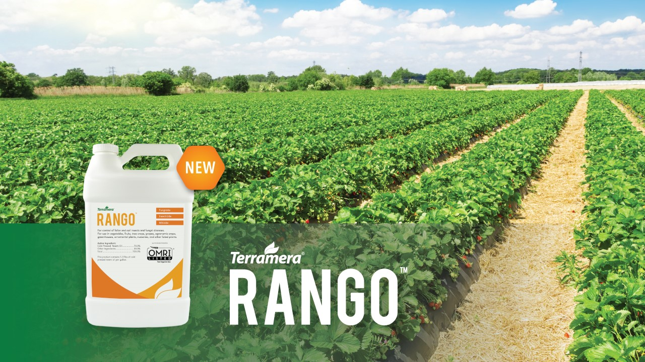 Terramera® announces their broad-spectrum biopesticide RANGO™ has been approved for use in California by the Department of Pesticide Regulation.