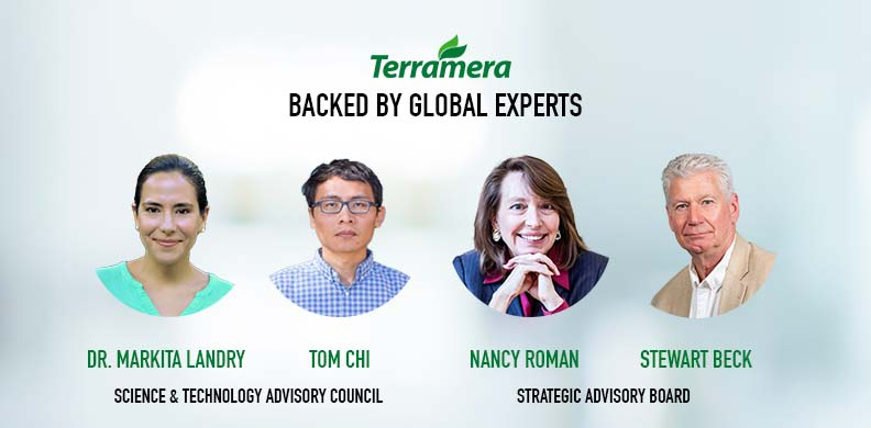 On Heels of $45 Million Series B, Dr. Markita Landry and Tom Chi join Terramera's Science & Technology Advisory Council and Nancy Roman and Stewart Beck are named to the company's Strategic Advisory Board