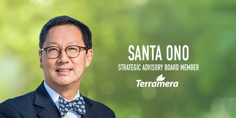 Renowned molecular biologist and advisor to Fortune 500 companies, Santa Ono, to help Terramera transform agriculture and reduce the global pesticide load 80% by 2030