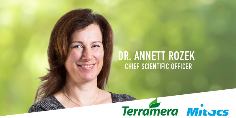 Dr. Annett Rozek, Terramera Chief Scientific Officer and accomplished scientist, has been appointed to the Mitacs Research Council (MRC).