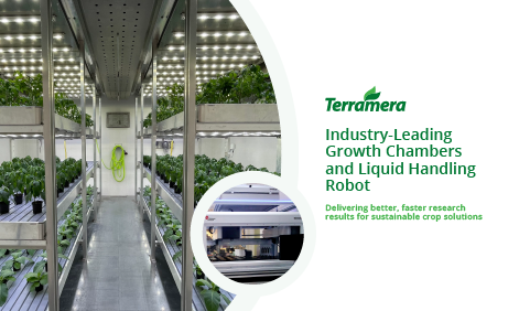 Terramera, the global agtech leader fusing science, nature and artificial intelligence to transform how food is grown and the economics of agriculture, today announced the launch of six custom, state-of-the-art plant growth chambers, showcasing Terramera's industry-leading technological capabilities and redefining indoor agriculture's contribution to field-based production.