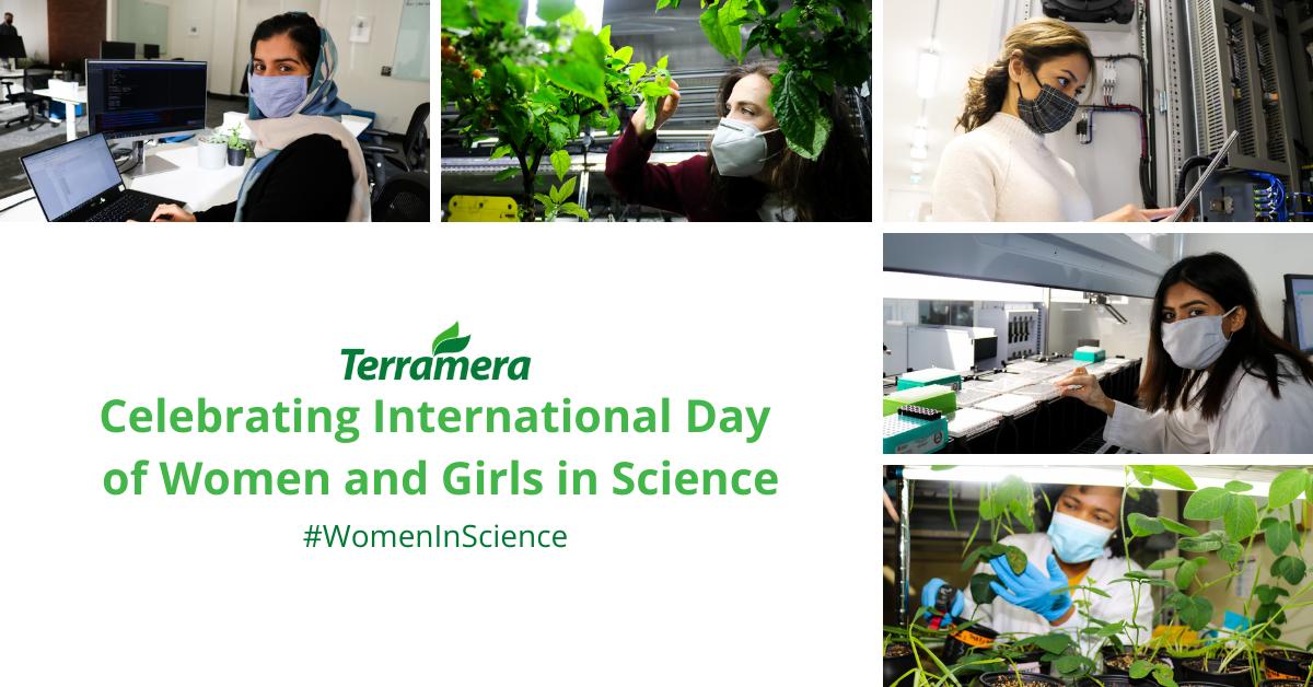 Celebrating Terramera's team of women in science