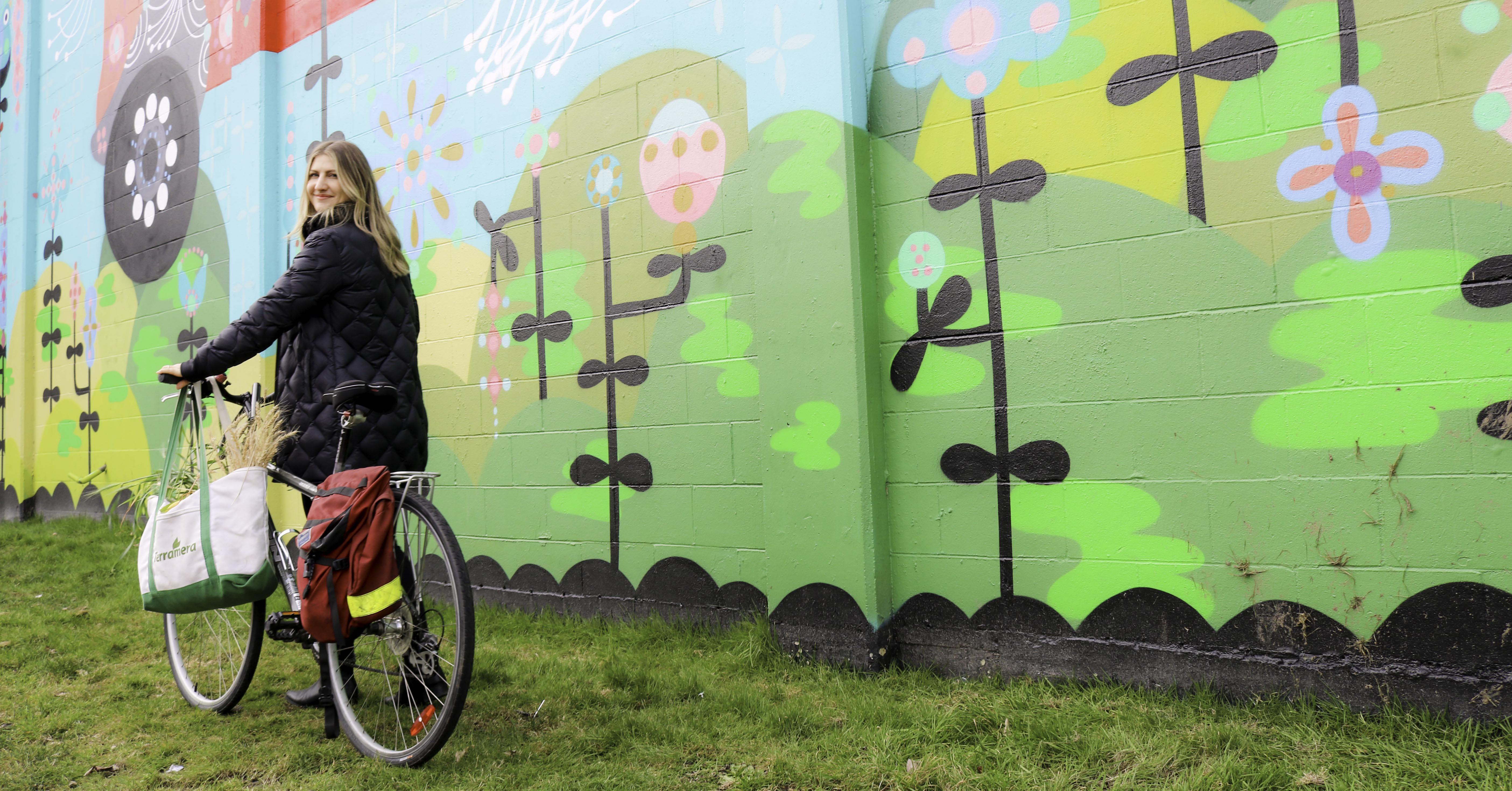 Bike to work is a sustainability habit