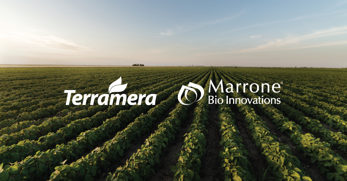 Marrone Bio Innovations and Terramera will collaborate to enhance the performance of MBI's crop protection products.