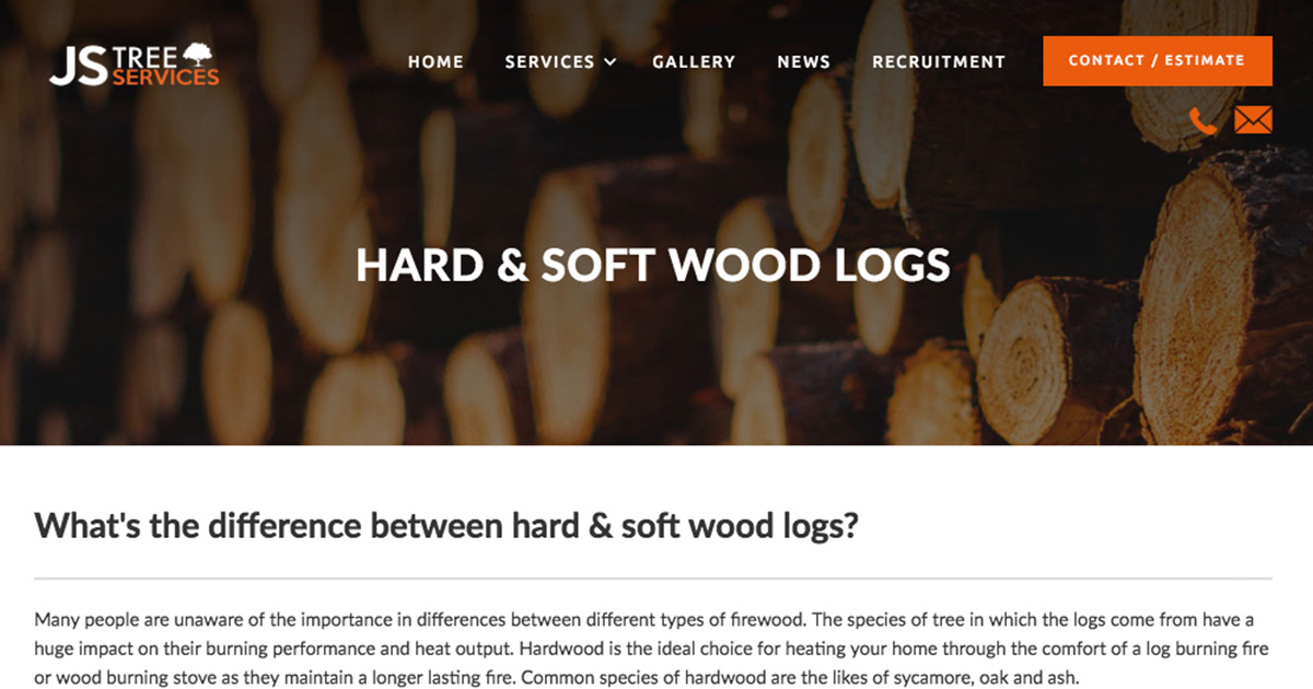 Hard Soft Wood Logs Jstreeservices