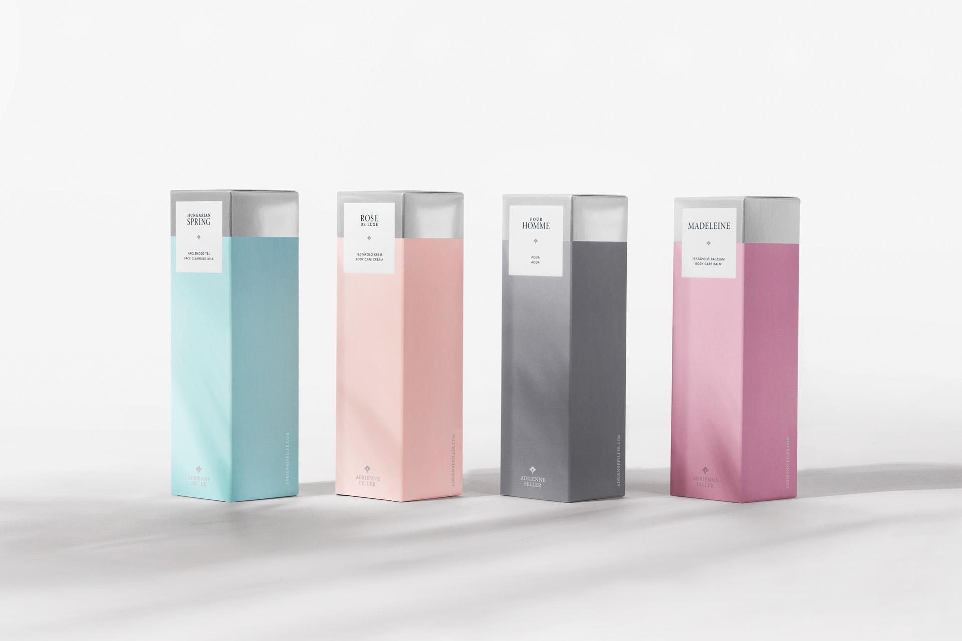 Adrienne Feller Package Design