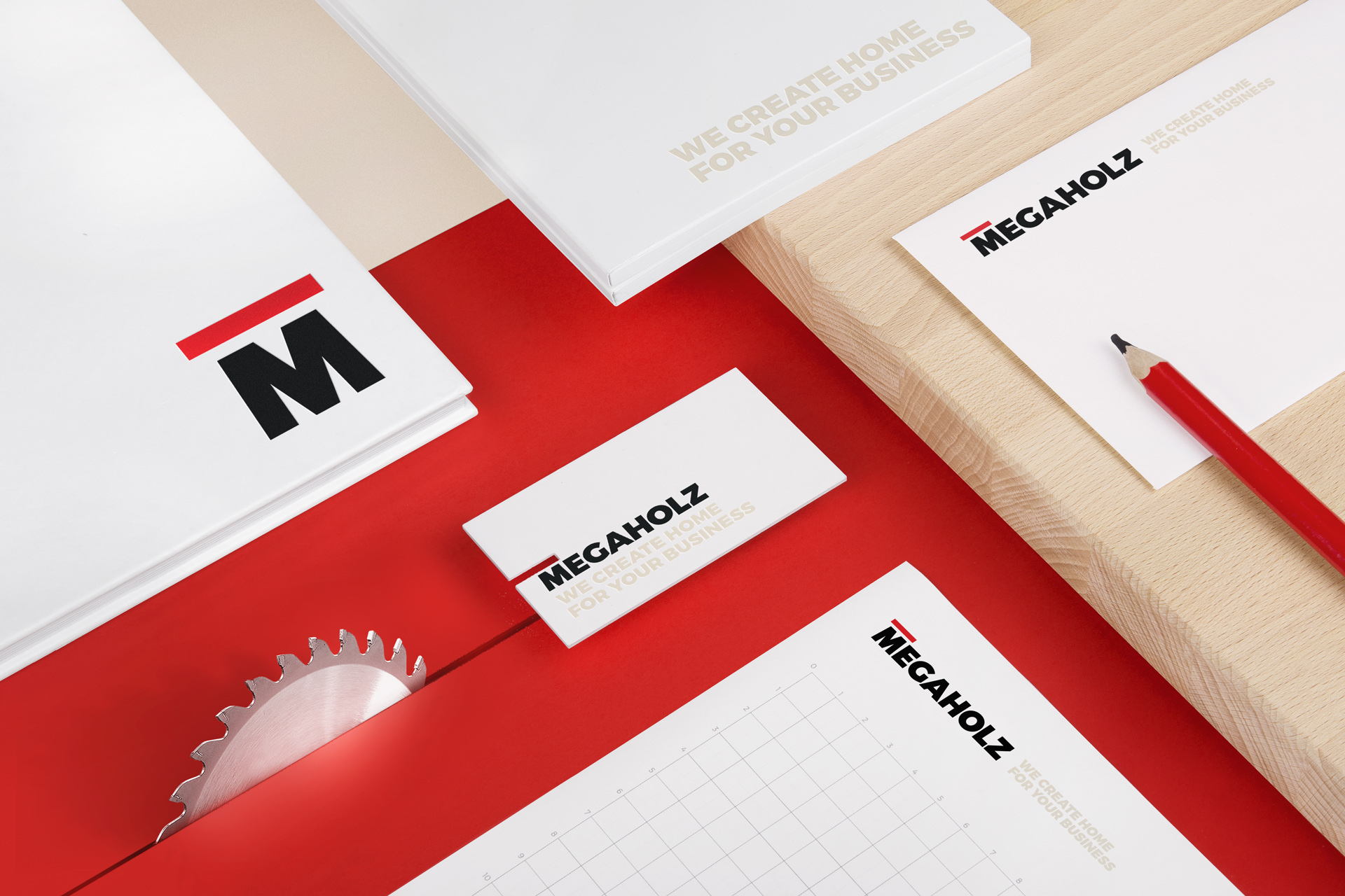 Megaholz Branding