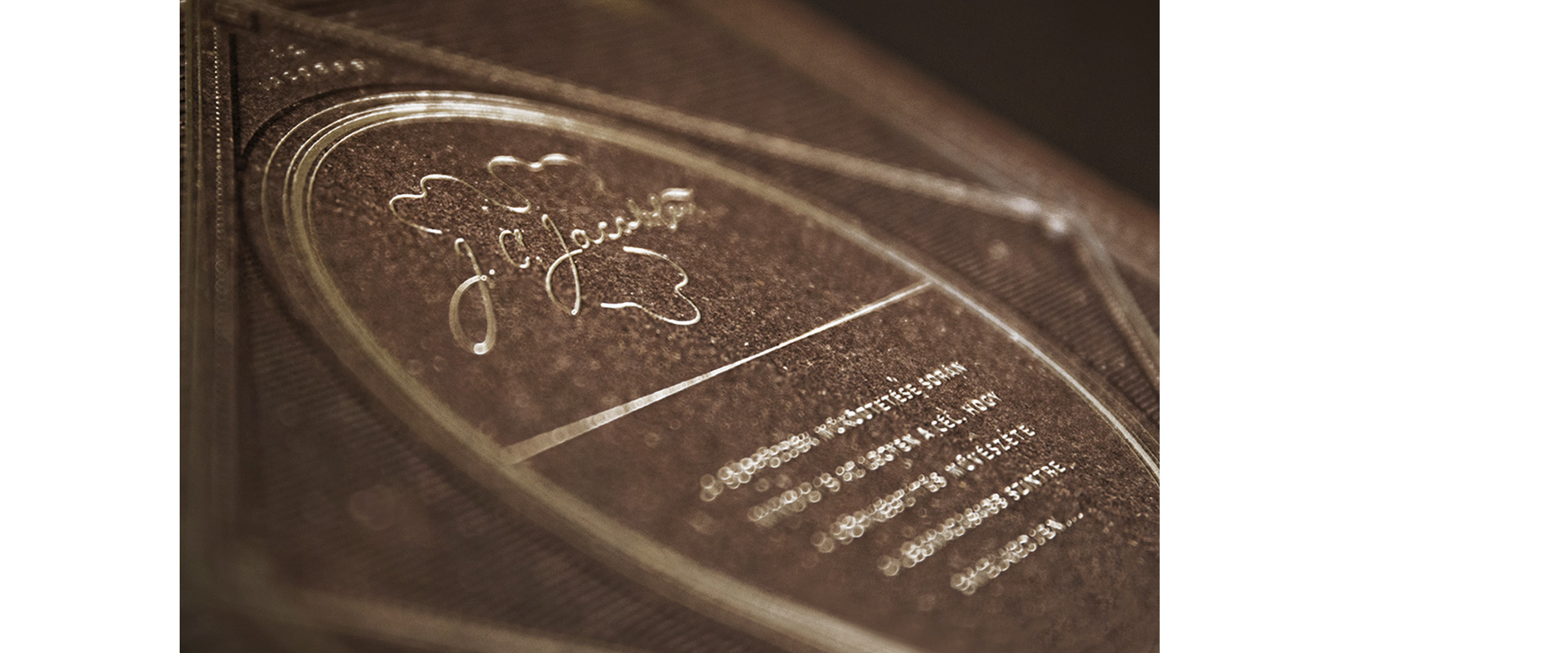 Carlsberg Beer Book Hot Foil