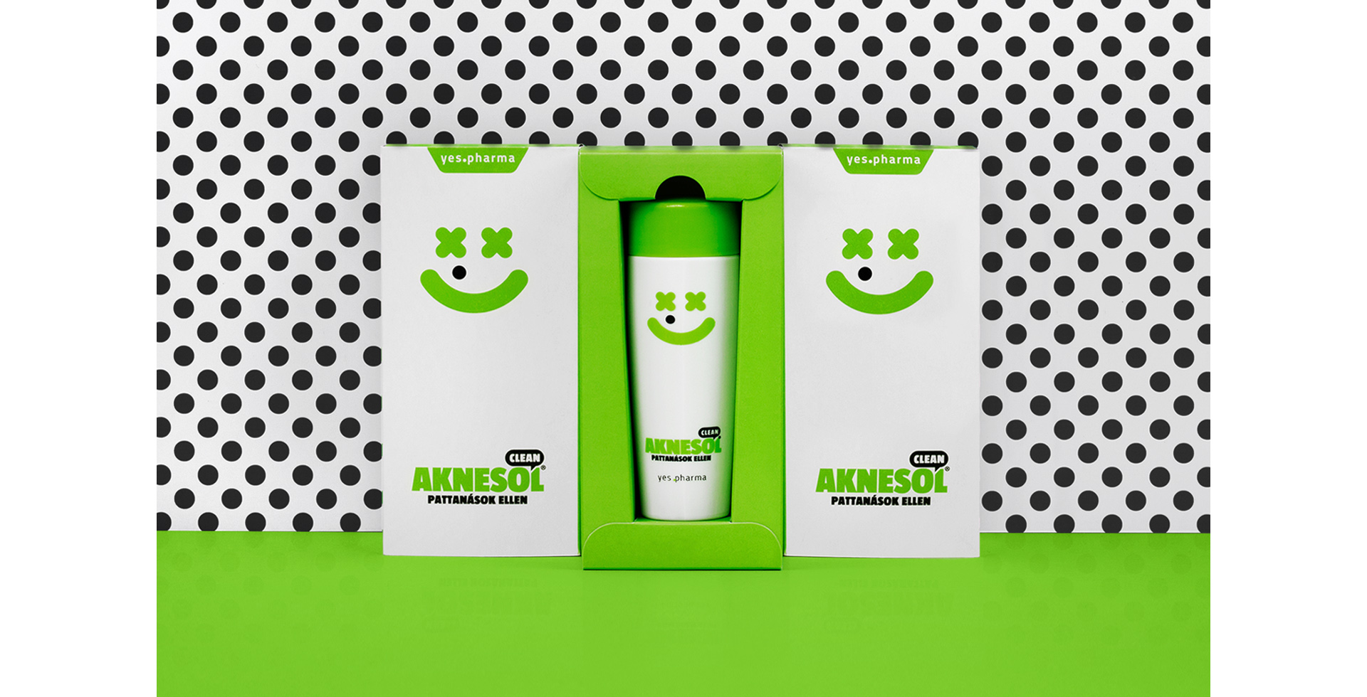 Aknesol Clean Package Design