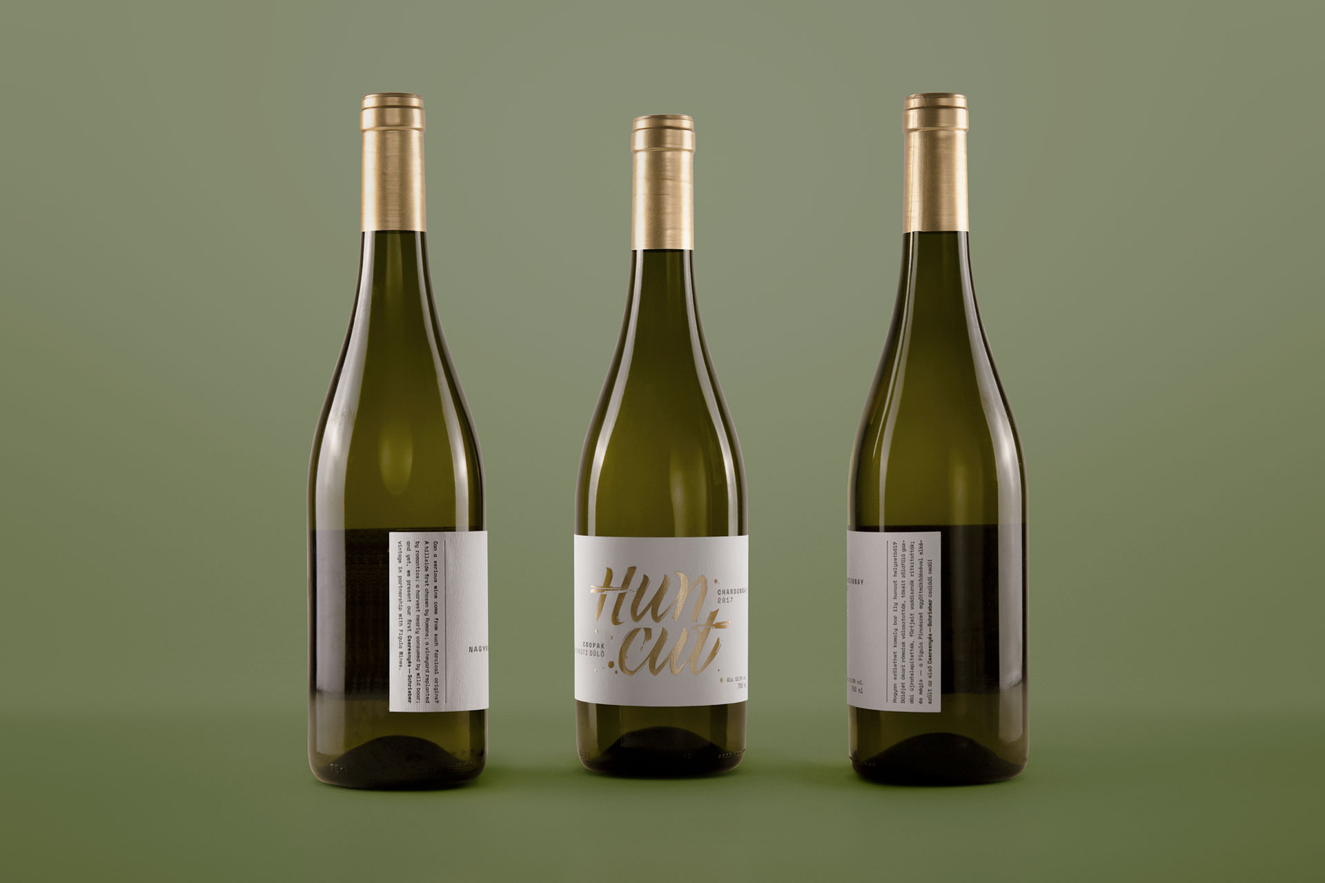 Huncut Wine Label Design