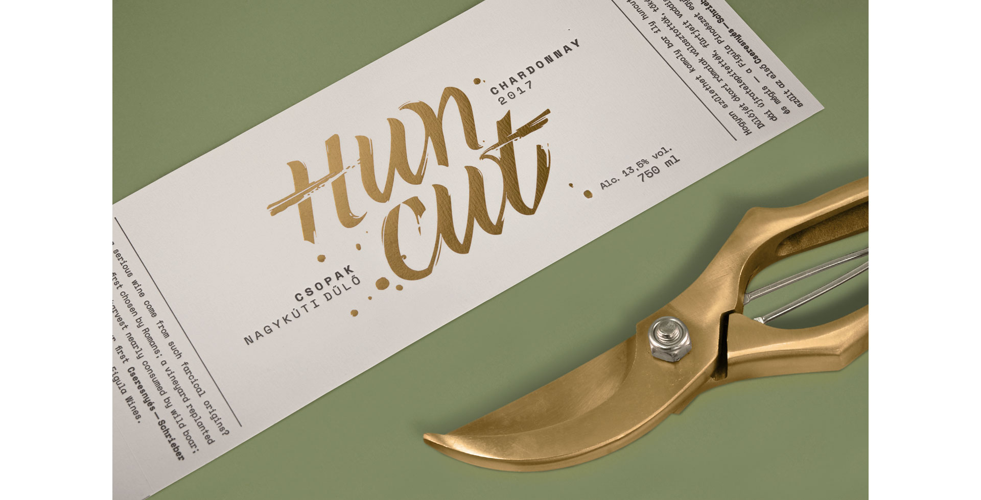 Huncut Wine Label