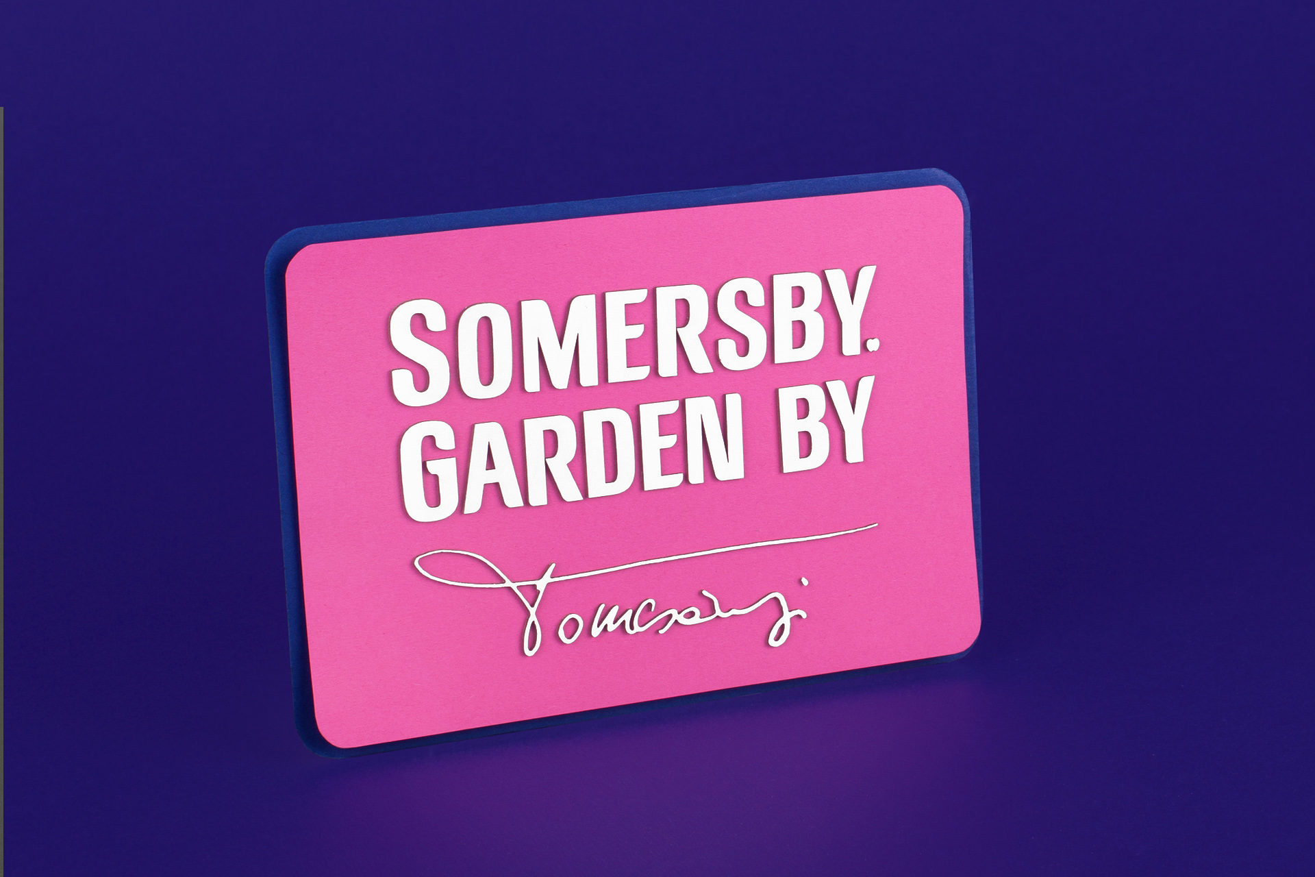 Somersby Limited Sign