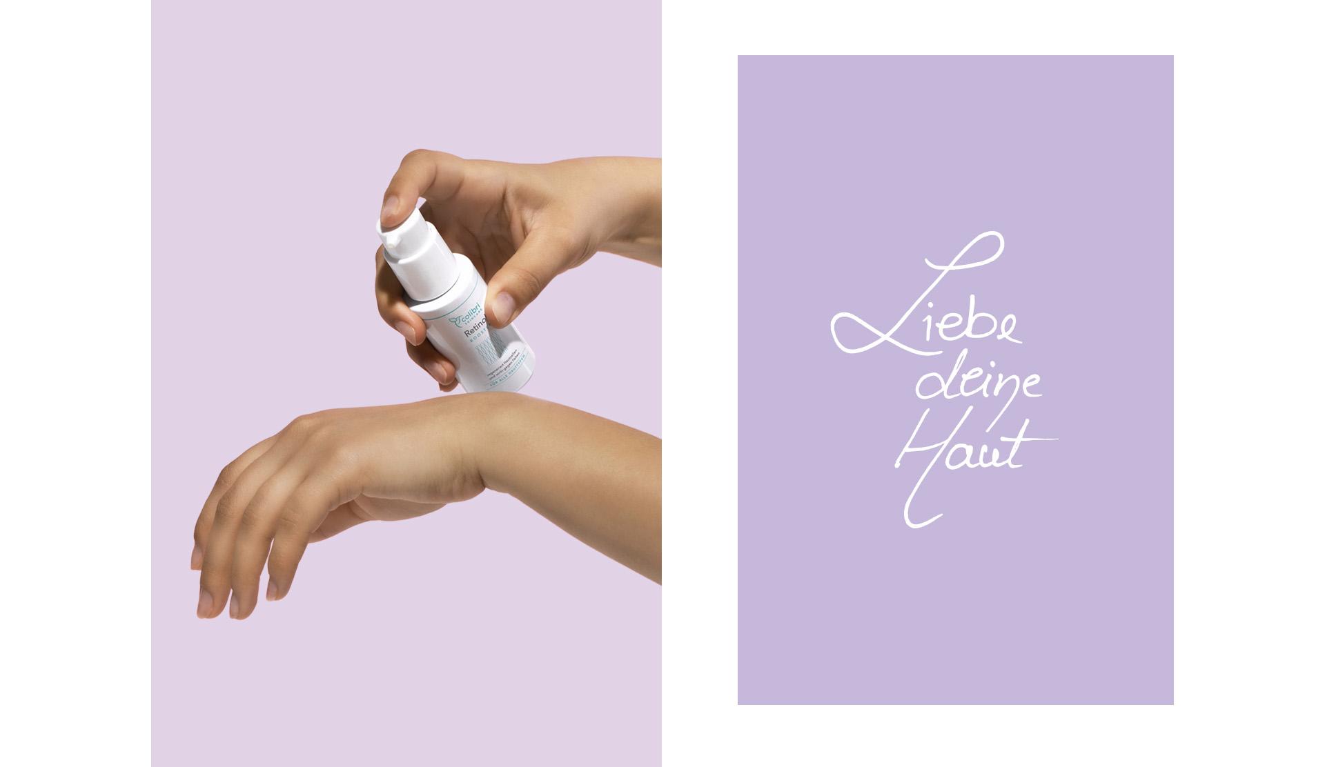 Colibri Skincare csomagolástervezés