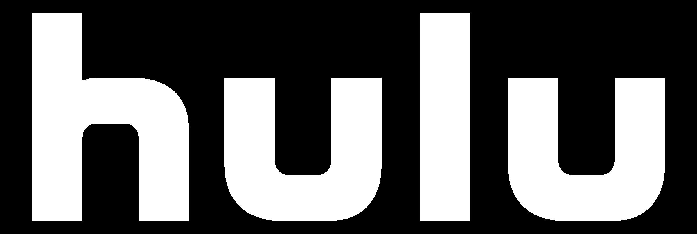 Hulu white logo