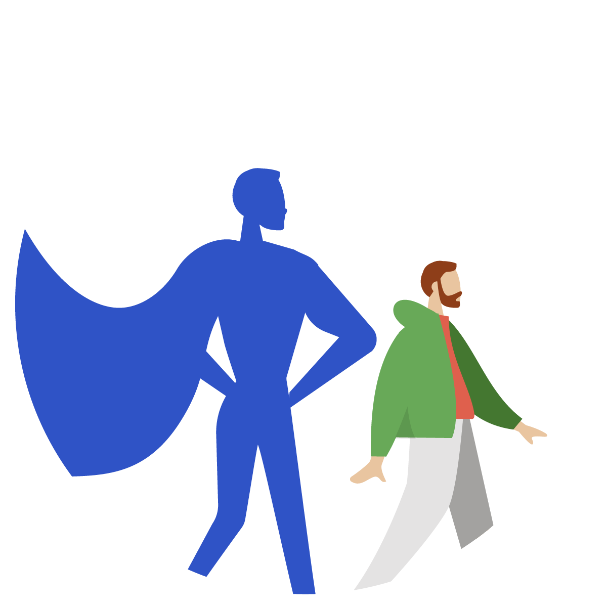 Man turned superhero thanks to Connector for Salesforce and Jira.