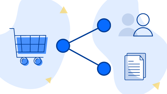 Connector for Salesforce and Jira: Blog Post illustration for  Atlassian  business case.