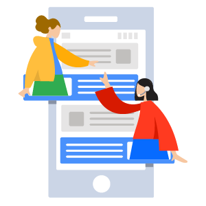 Illustration of work teams aligned with Connector for Salesforce&Jira by ServiceRocket.