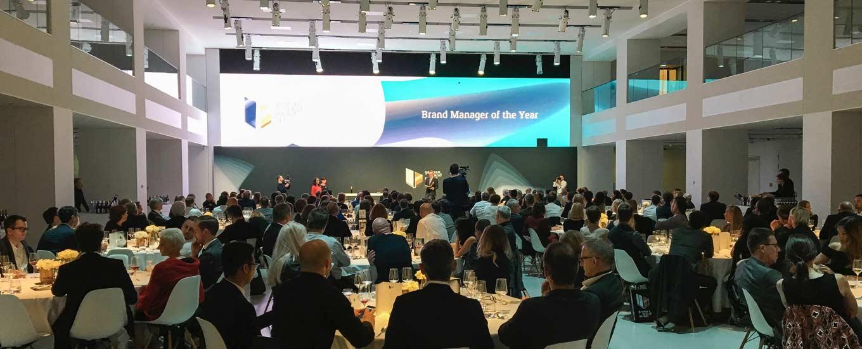 Der Saal indem der German Brand Award vergeben wurde