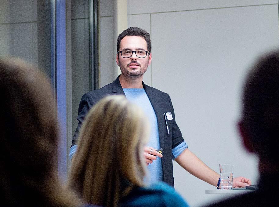 Christian Berg präsentiert Erfolgsfaktoren für Landingpages