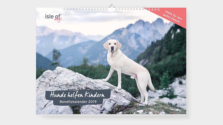Der in Zusammenarbeit mit Michaela Krenn entstandene Hunde-Benefizkalender von Isle of Dogs