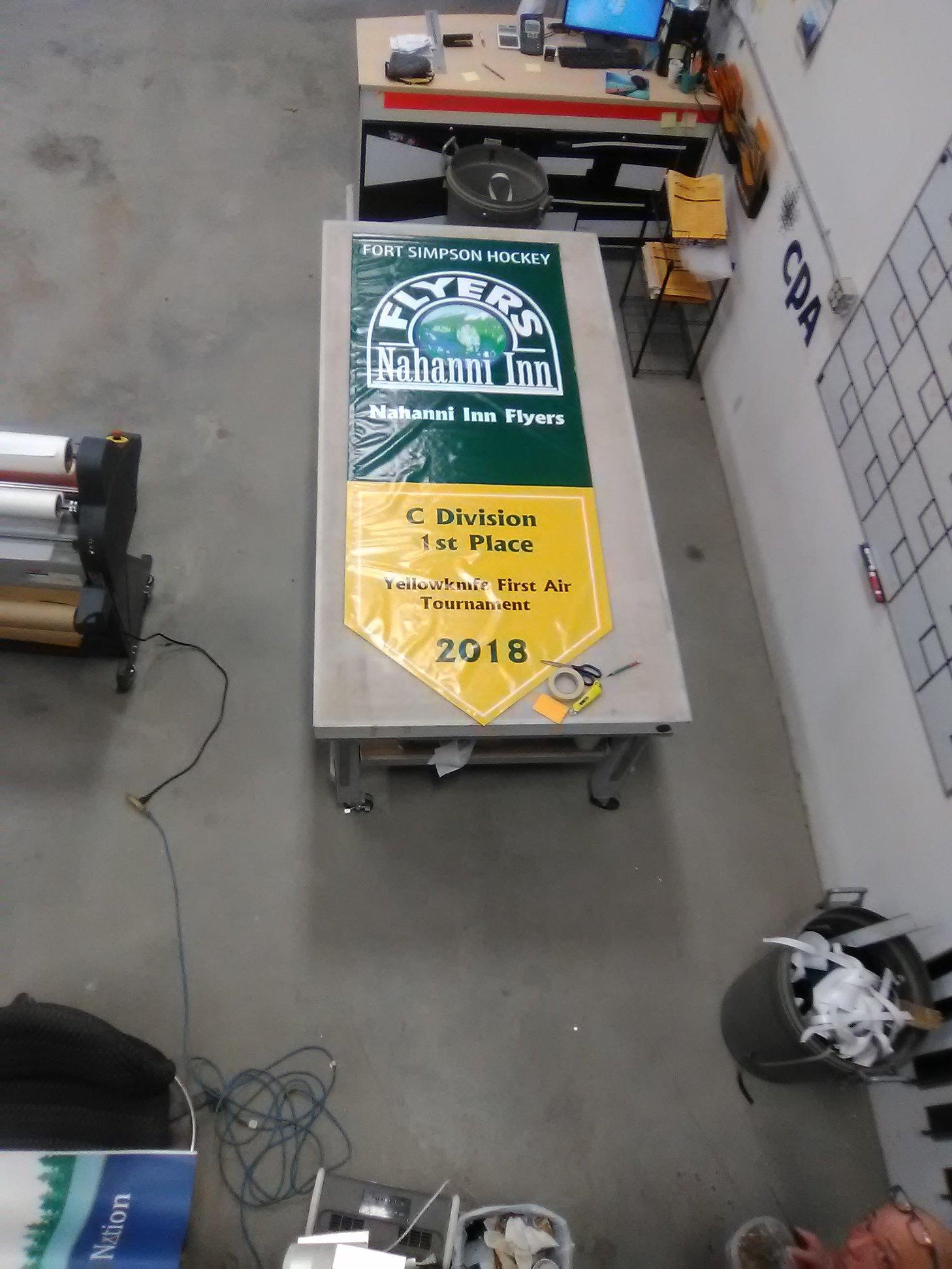 Banner for Nahanni Inn Flyers.