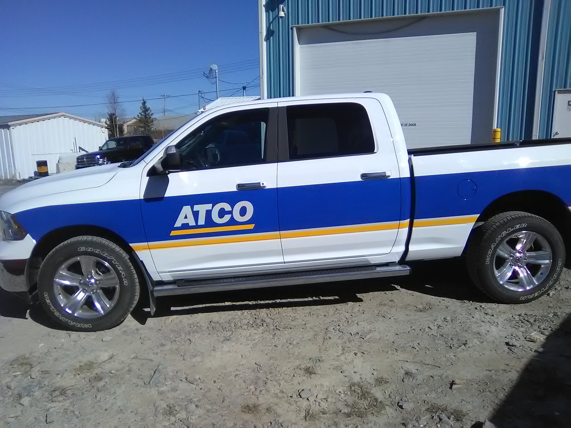 New commercial vehicle wrap