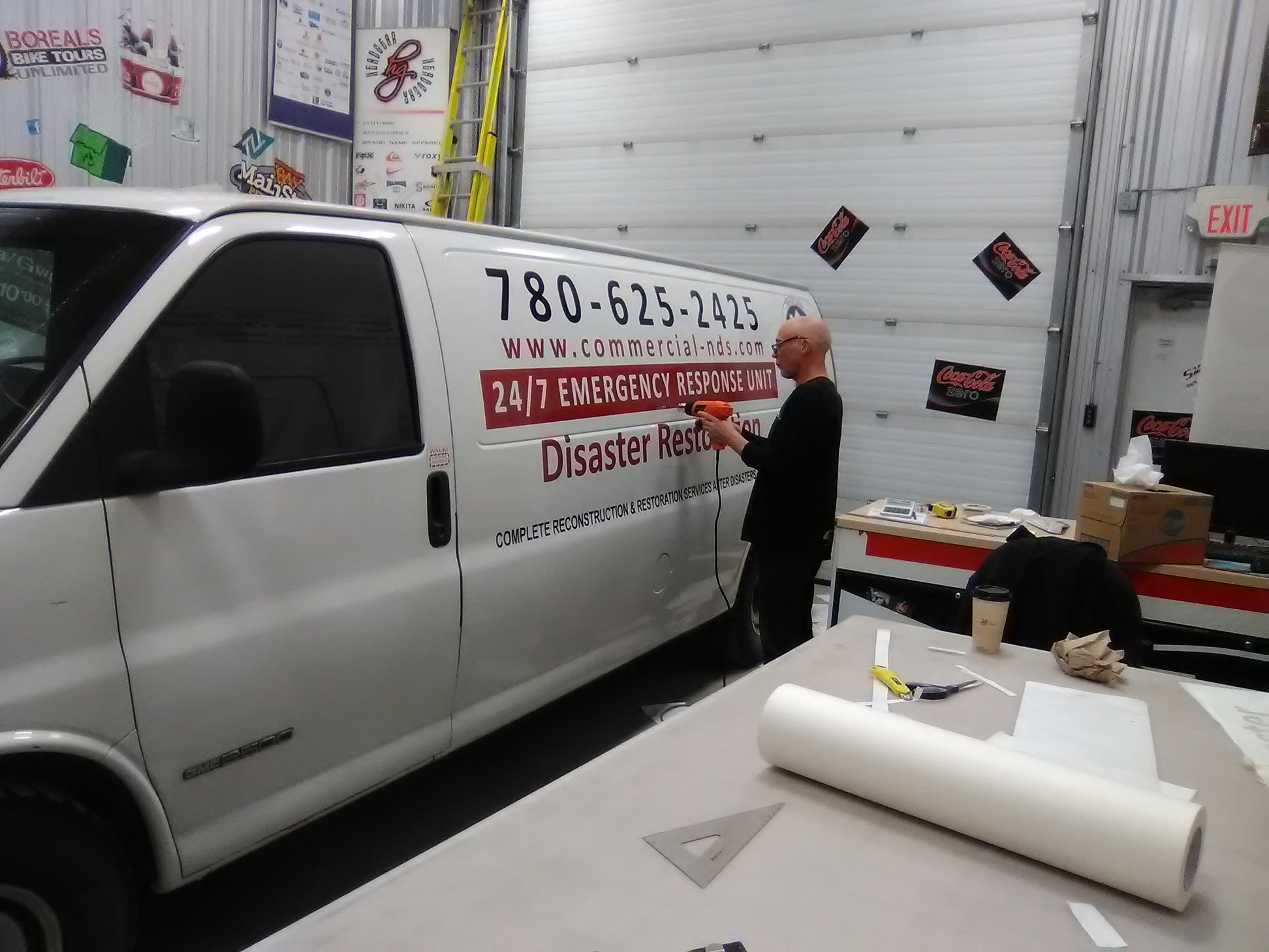 Commercial vehicle decals