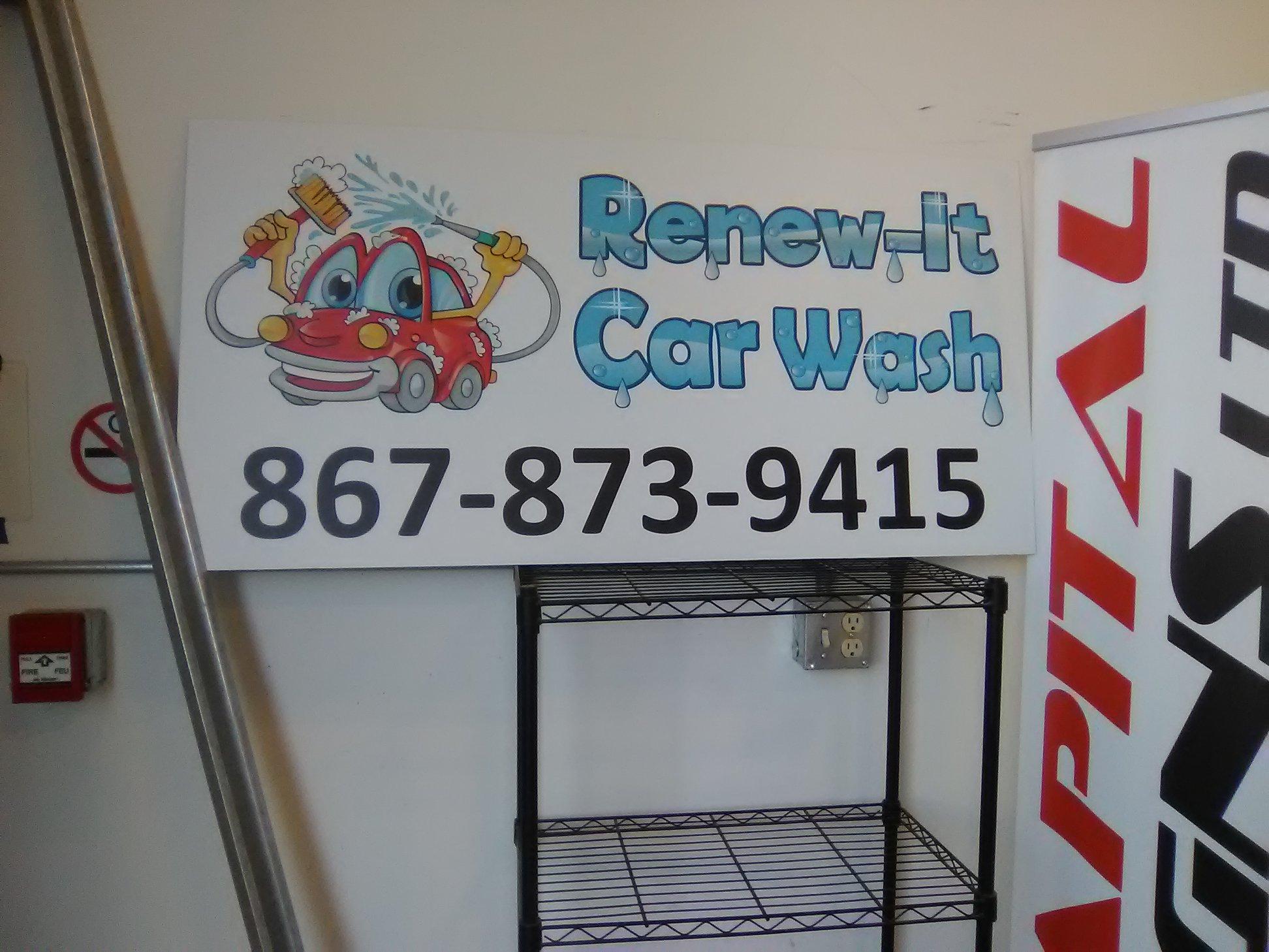 Renew-It Car Wash Exterior Car Wash