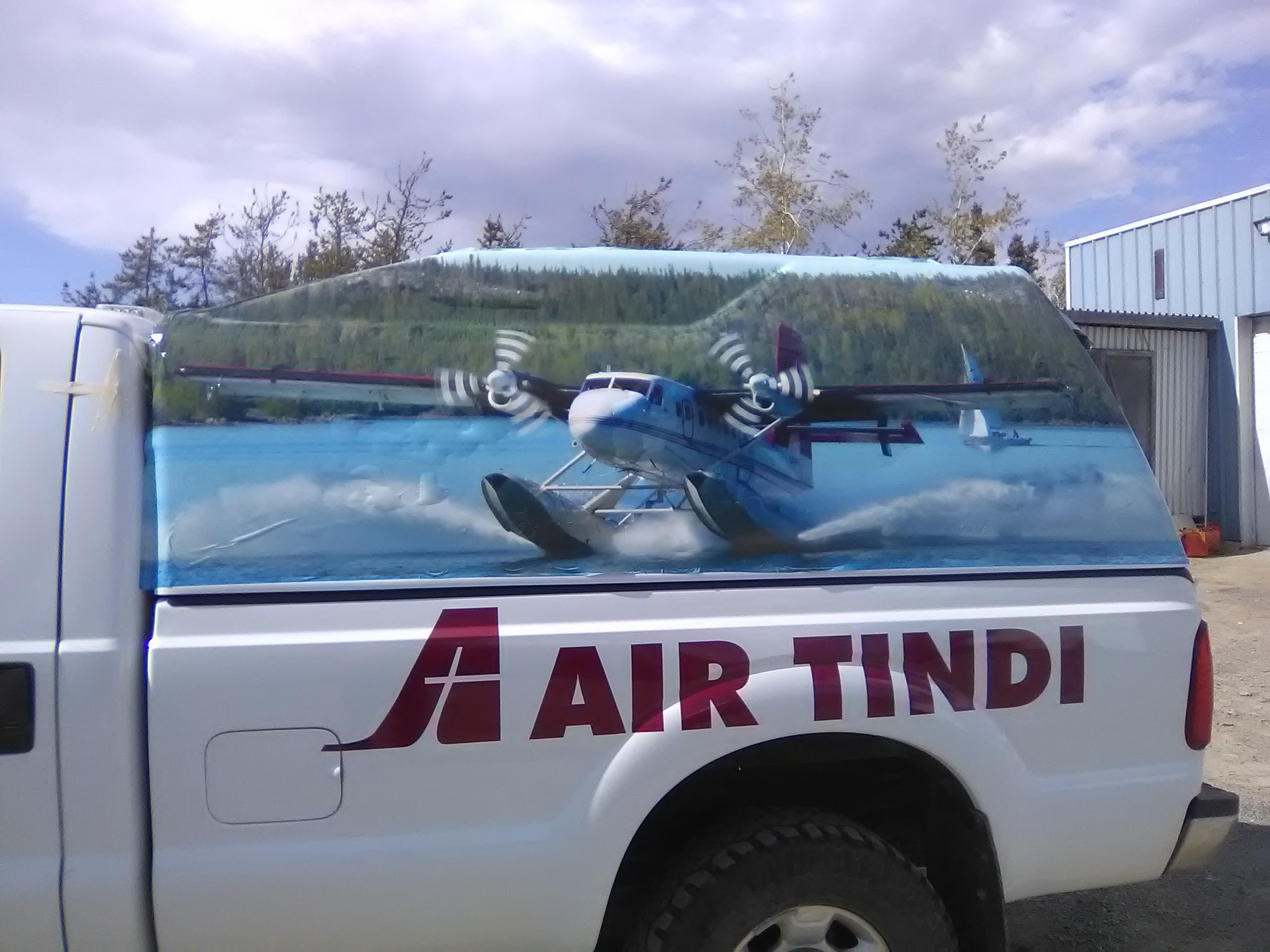 Air Tindi Fleet Wrap for Canopy Cover
