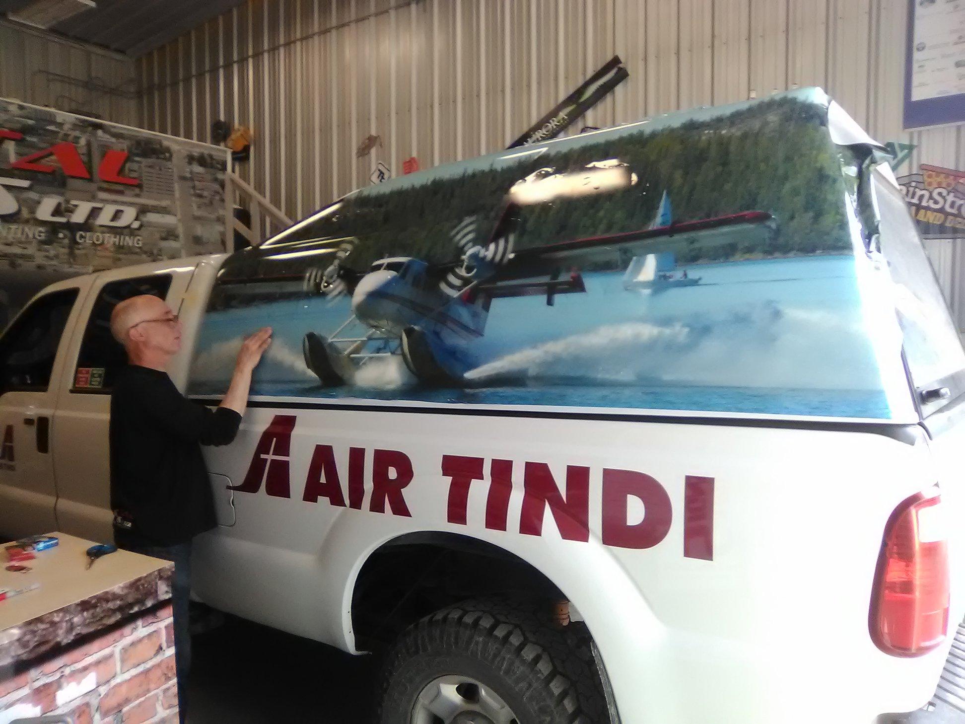 Air Tindi Fleet Wrap for Canopy Cover