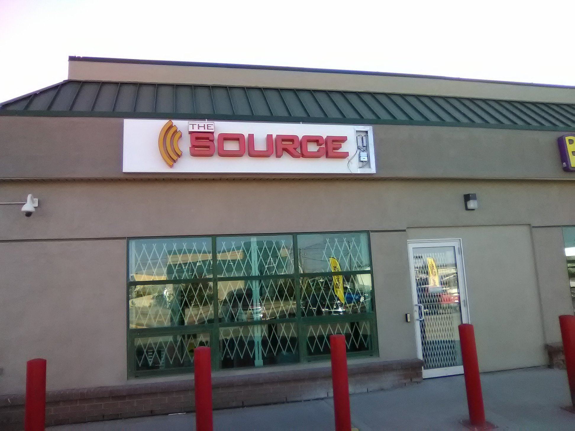 New Backlit Sign for The Source Retail Store