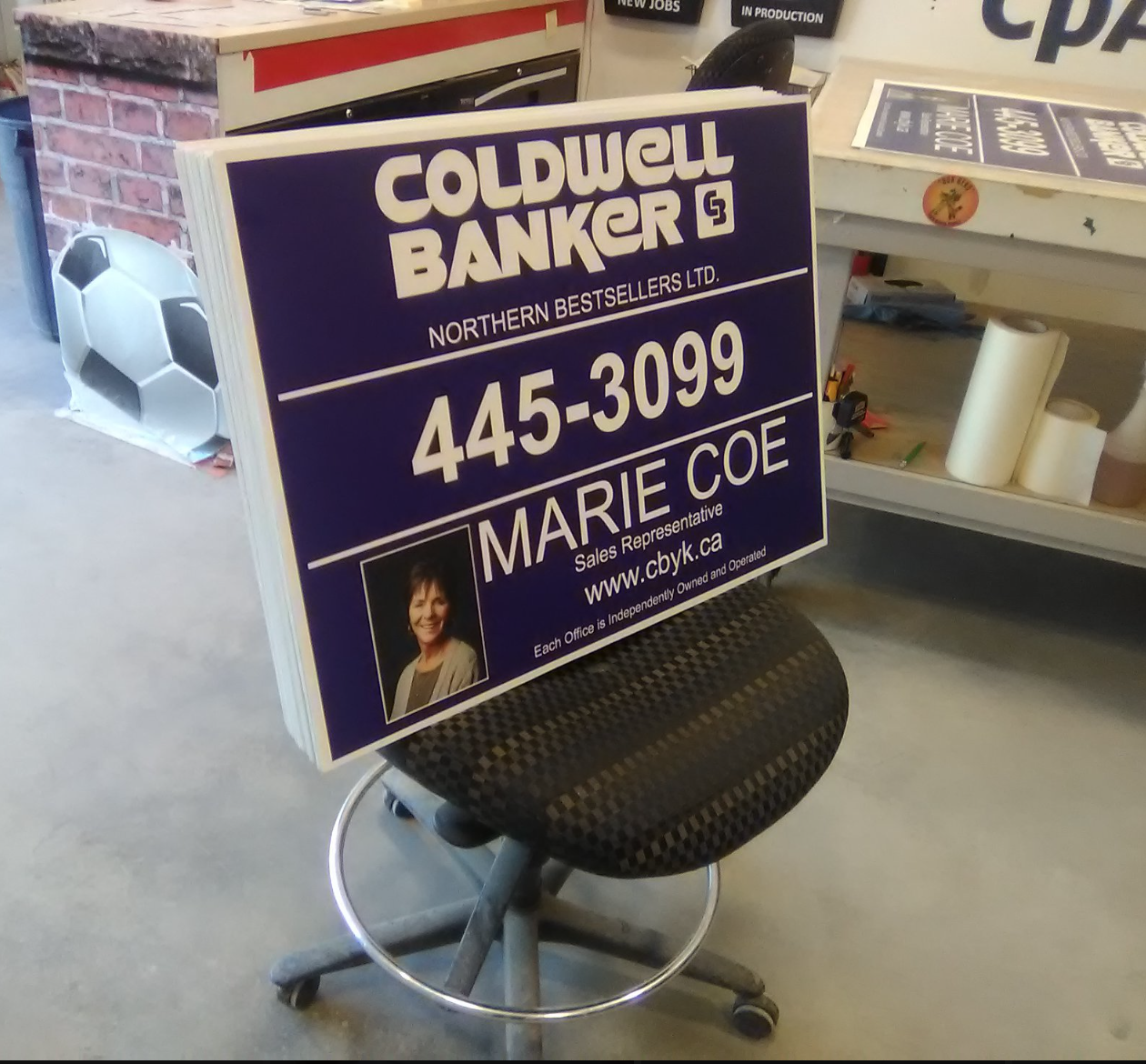 Coldwell Banker for sale signage