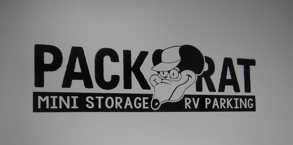 Pack Rat Mini Storage & RV Parking Interior Signage