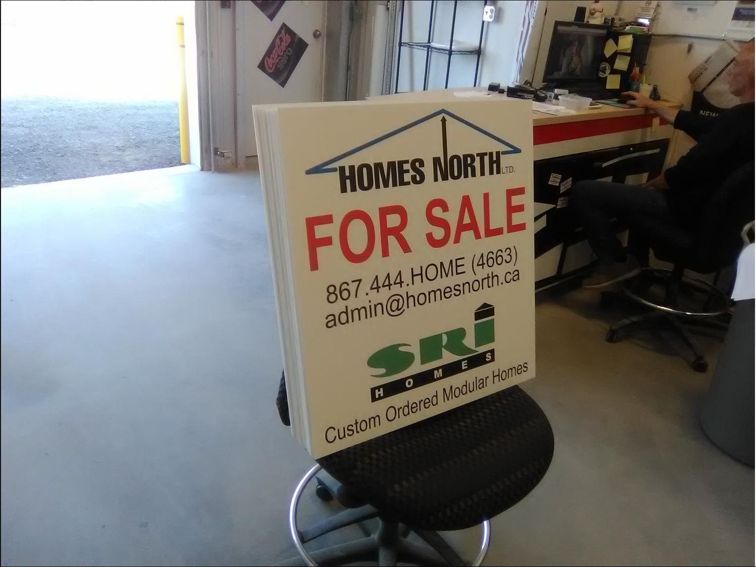 Homes North Ltd. Exterior Signage
