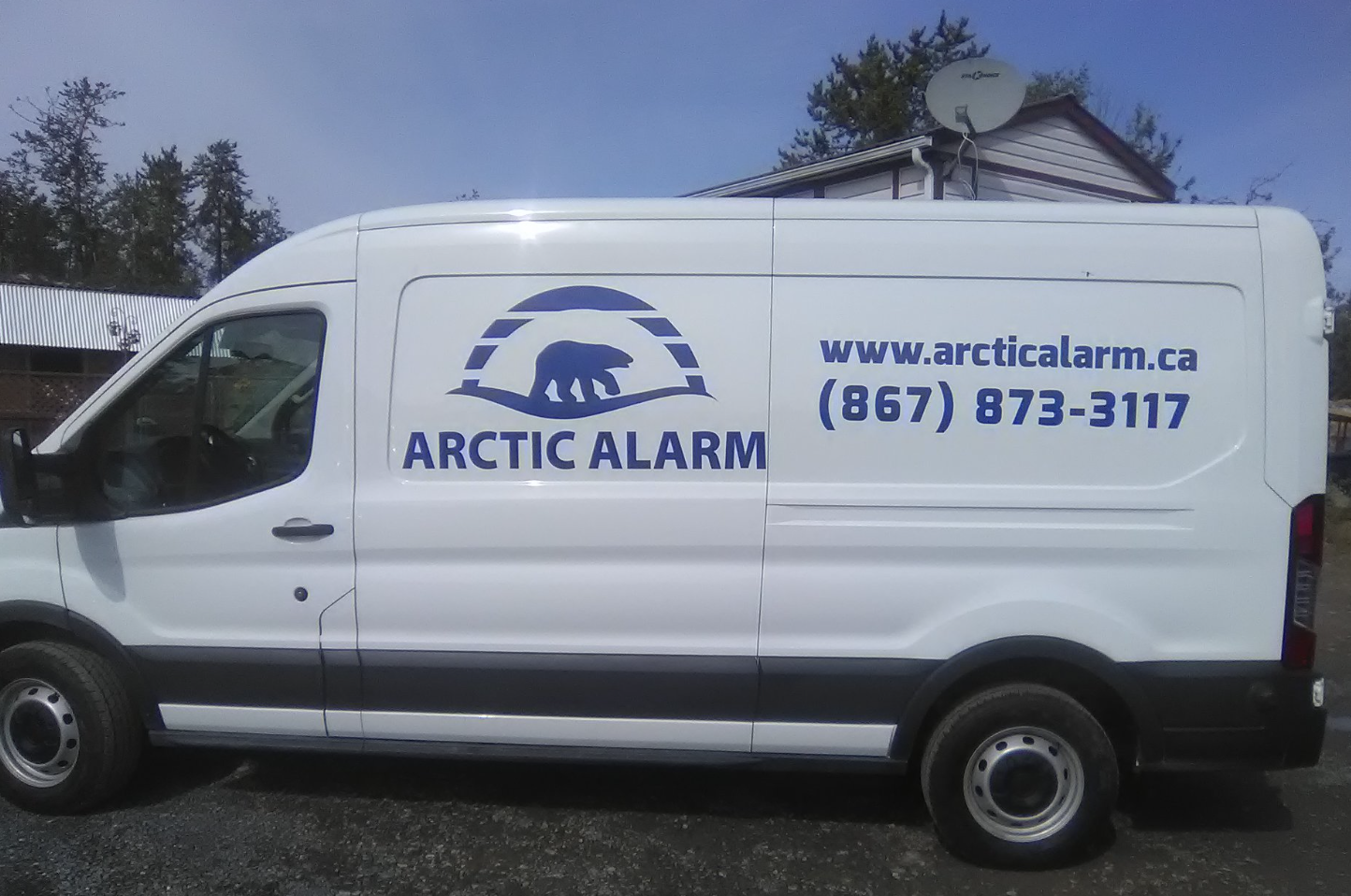 Arctic Alarm Commercial Vehicle Decals
