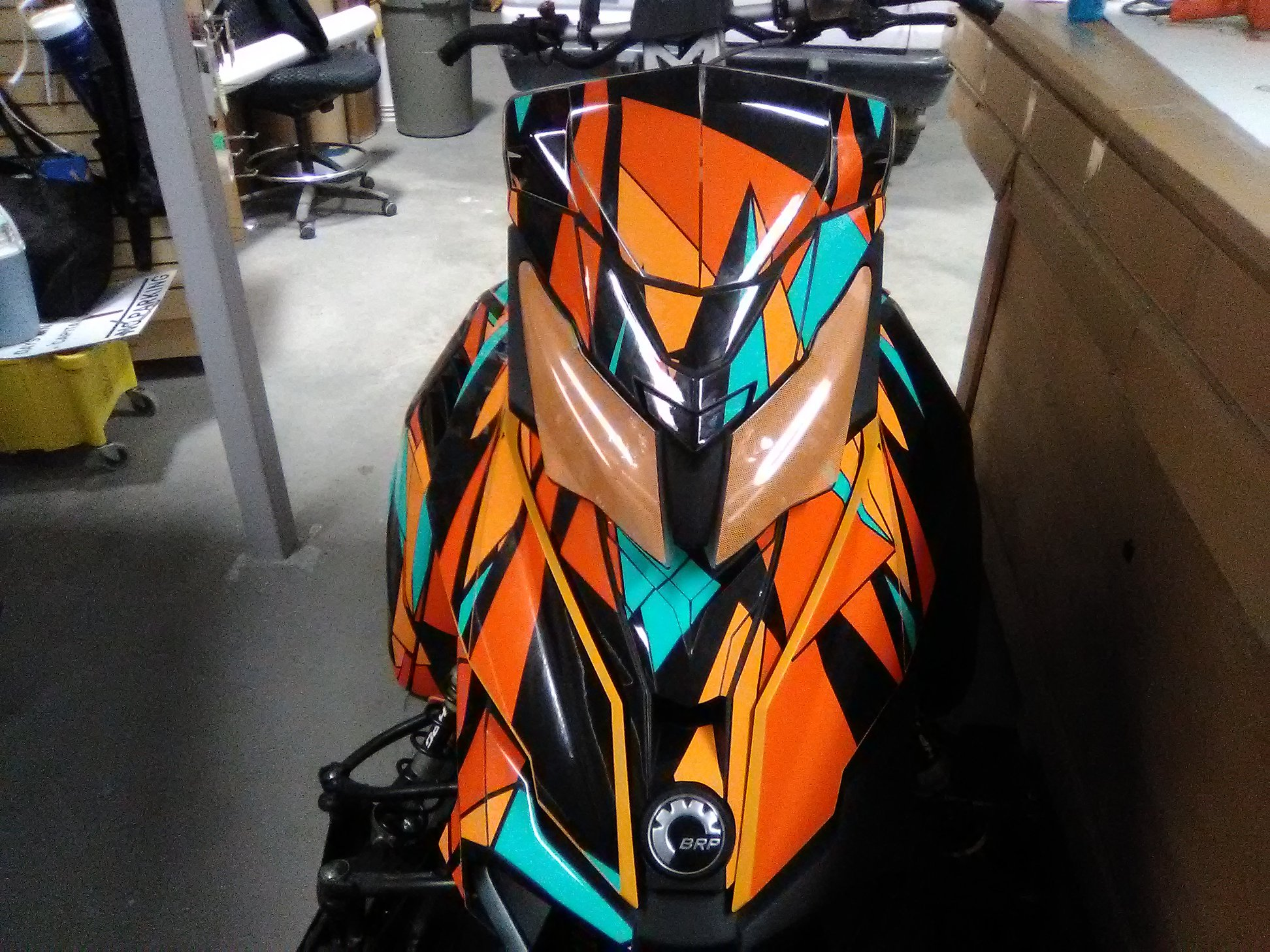Custom Sled Wraps