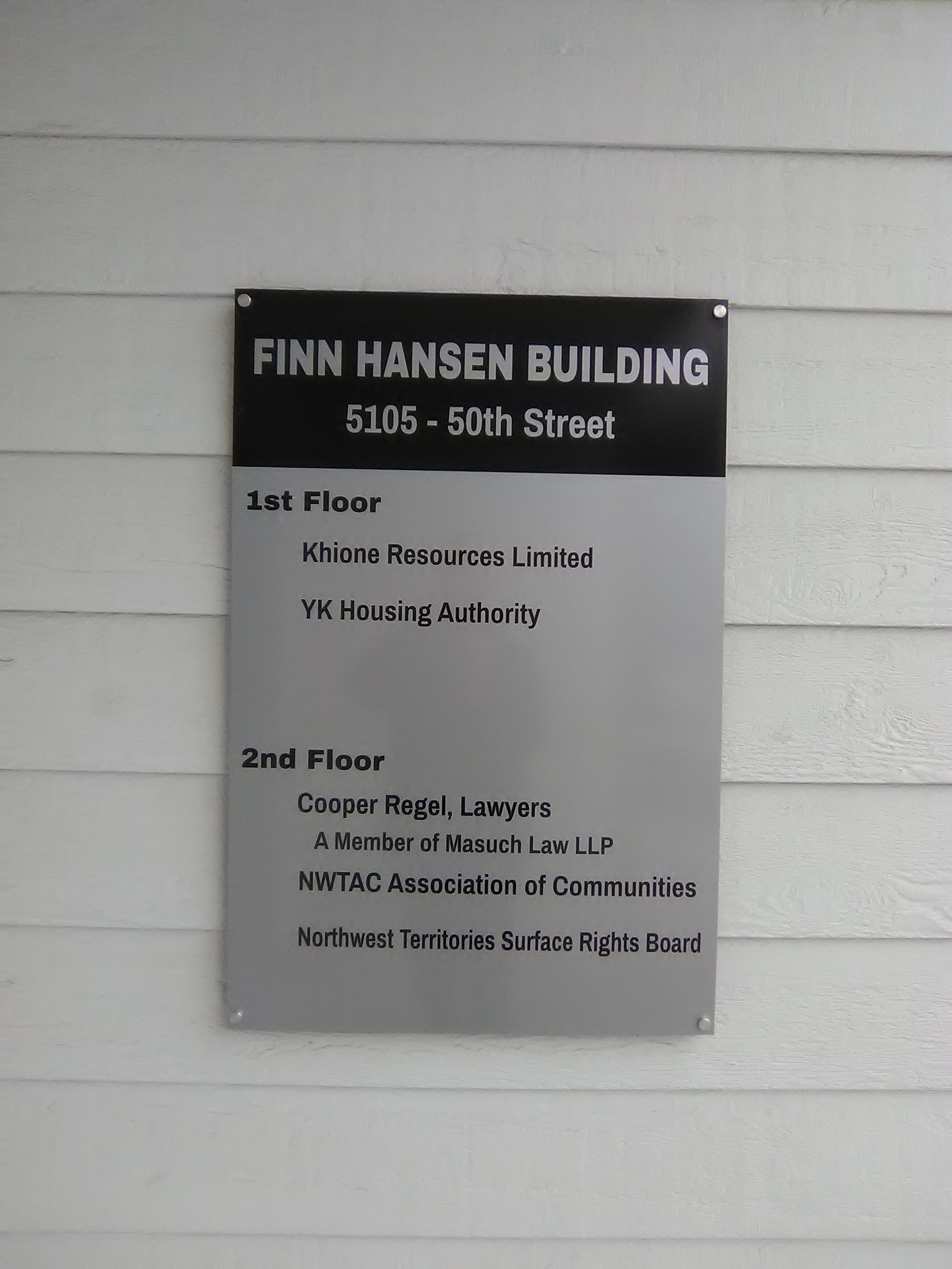 Parking & Office Signage