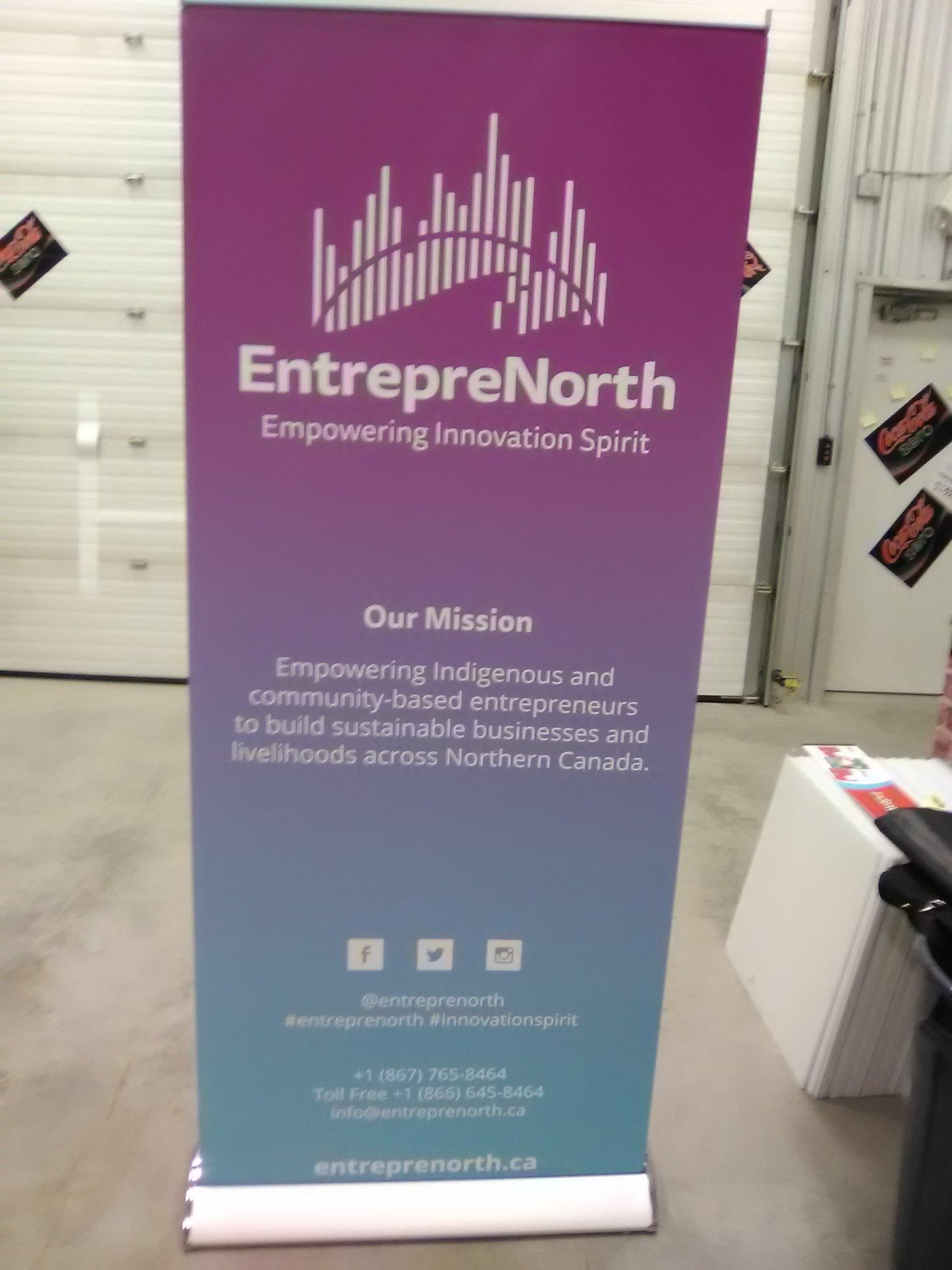 Entrepre North Banner