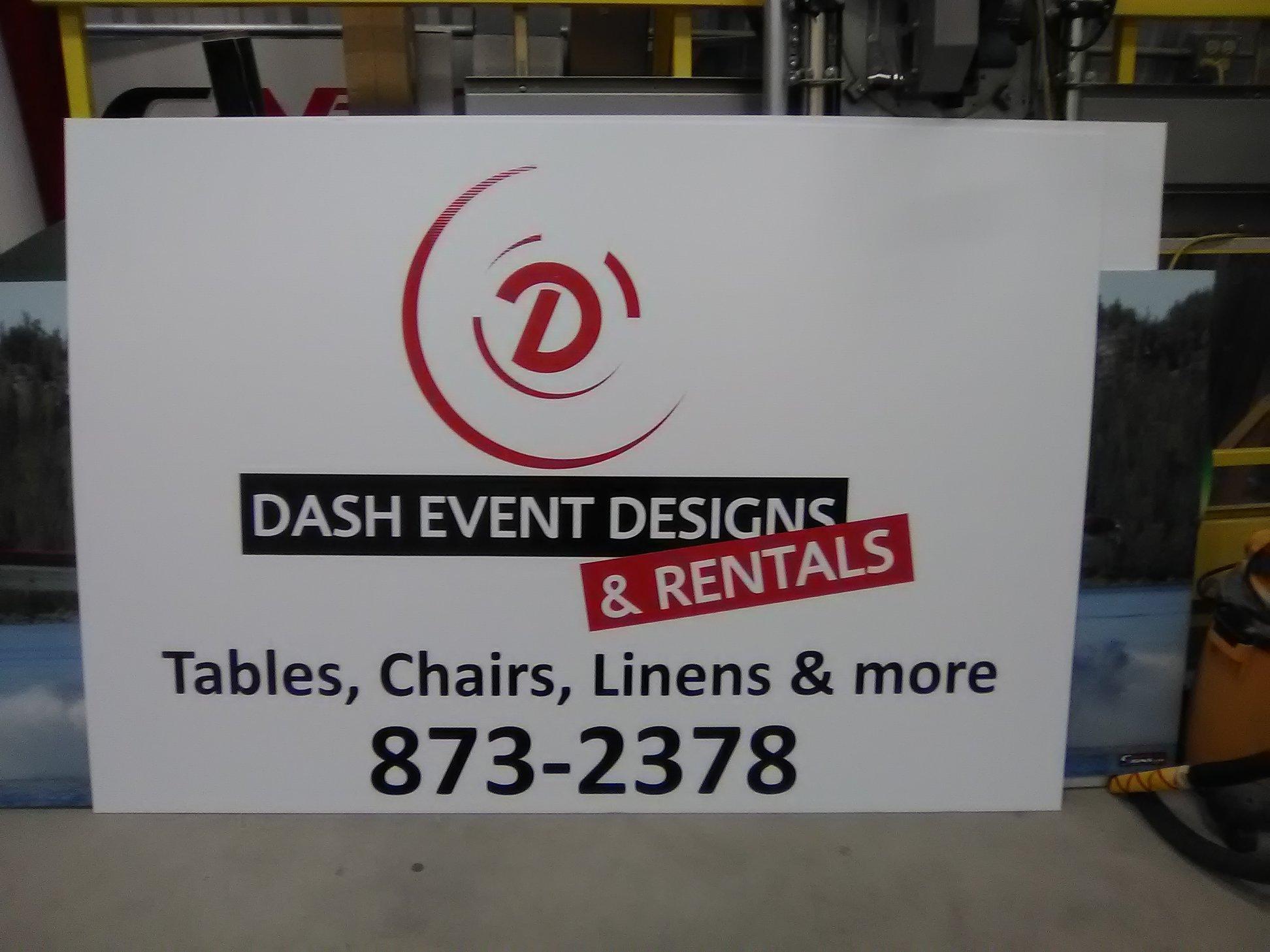 Dash Event Designs & Rentals