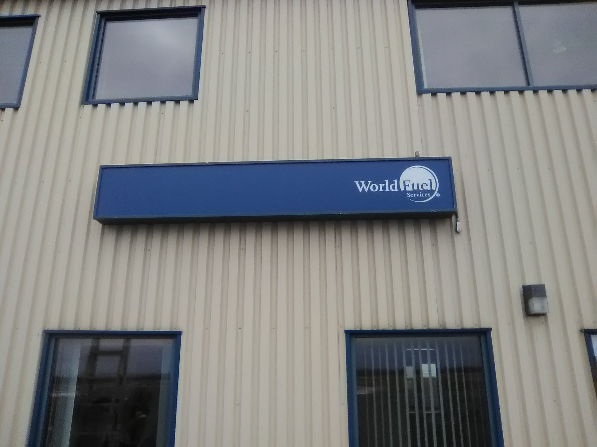 World Fuel Services Exterior Signage