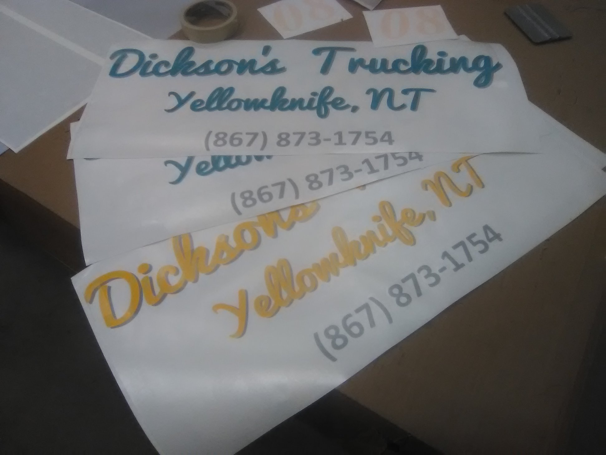 Truck Decals for Commercial Truck