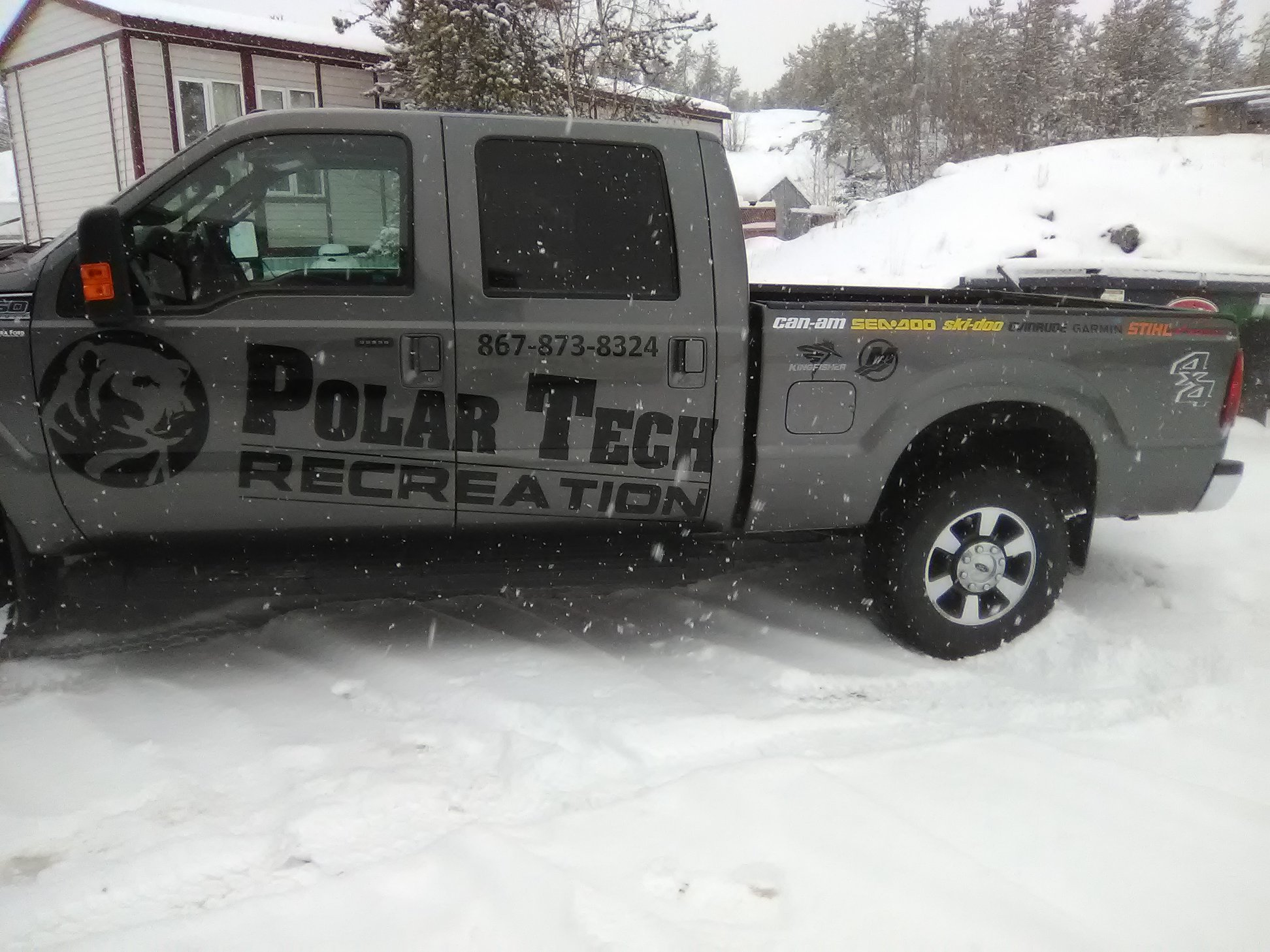Polar Tech Commercial Vehicle Decals