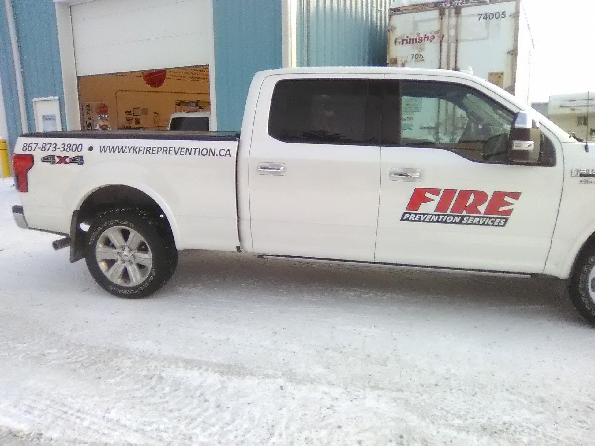 New Fire Prevention Services Fleet Decals